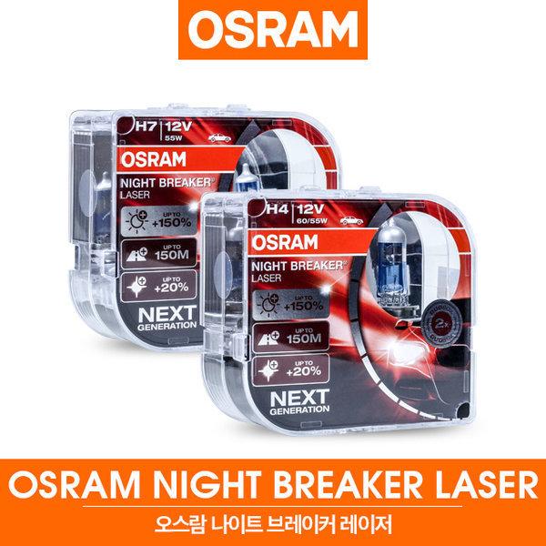 정품 나이트브레이커 레이저 H1/H3/H4/H7