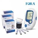 FDA인증 유진포라 혈당계 +시험지150+침110+솜100+수첩