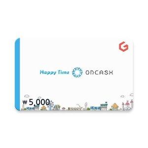 (카드가능)(온캐시) 기프티카드 5천원권