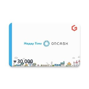 (카드가능)(온캐시) 기프티카드 3만원권