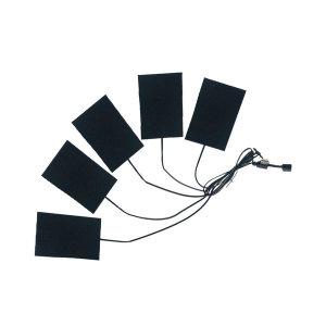 5피스 발열판 USB 3단조절 방수 발열 보온패드
