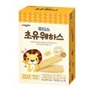 아기밀 냠냠 웨하스 초유 어린이 영양간식 과자