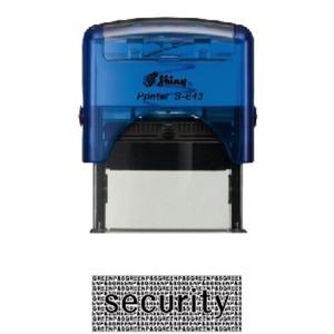 샤이니 Security스탬프 S-845 특대