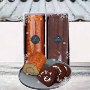 경성명과 1+1 수제 케이크 ( 롤케익+ 코코아맛 롤케익)