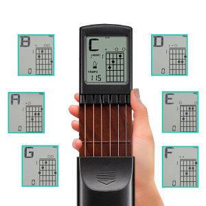 기타연습기 LED표시 스케일코드연습 스케일 기타손가락