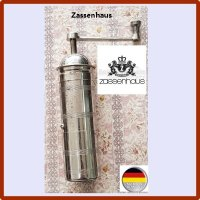 빈티지 독일 자센하우스 황동 휴대용 커피밀