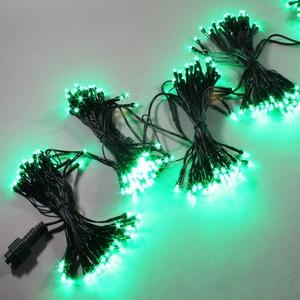 LED 76구 5조(380구) 연결형-녹색-무점멸 포함