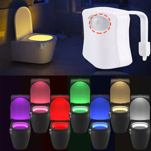 스마트 변기 센서등 욕실용품 욕실등 취침등 무드등
