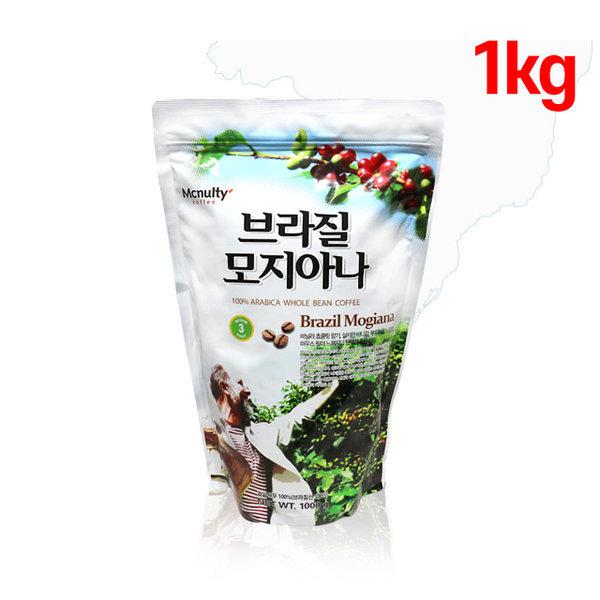 맛있는원두 초콜릿향 브라질커피 홀빈 1kg