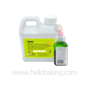 멜론 맛과 향을 지닌 식용색소(그린계열)25ml