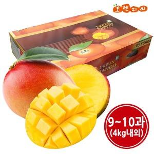 페루산 생 애플망고 9과 (4kg) ~10과(4kg) 1박스 랜덤