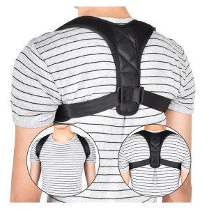 바른 자세 교정밴드 어깨 굽은등 거북목 교정기 척추
