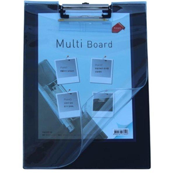 메카라인 멀티화일 클립보드 A4 세로 투명커버 다용도