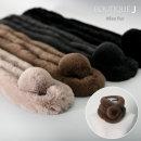 왕방울 페이크퍼 퍼목도리/퍼머플러/토끼털목도리