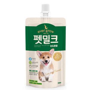 에버그로 펫밀크 눈 관절 150ml / 강아지 우유 / 간식