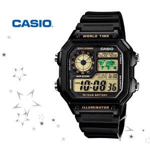 정품 스타샵 AE-1200WH-1B 디지털 시계c42.