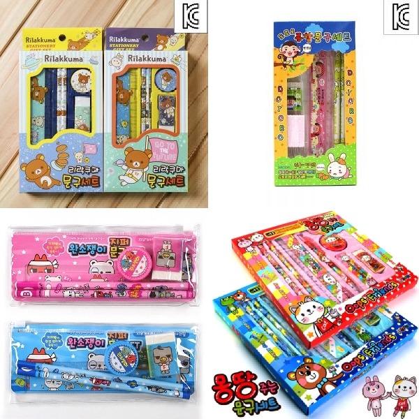 (10개묶음)어린이문구세트 학용품 아동 유아 선물 캐