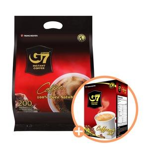 베트남 G7 커피/Pure Black 200T/블랙 +사은품 믹스10T