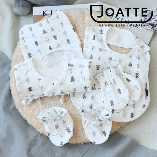 신생아5종세트(손싸개 발싸개 배냇저고리 신생아모자 속싸개)출산선물 출