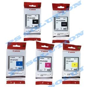 정품 PFI-8120BK 130ml 색상별 선택구매 TM-5200