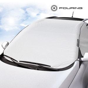 4면 자동차 앞유리 성에방지 차량 덮개 커버 (SUV/RV)