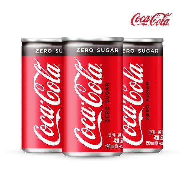 코카콜라 제로 190mlx30캔/탄산음료