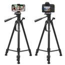 카메라 DSLR 스마트폰 3단 접이식 삼각대 TRD-04