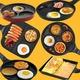 퀸센스 국내산 3구 4구 계란후라이팬 7종 인덕션 선택