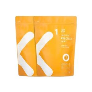 과탄산소다 3kg 대용량 1+1 베이직