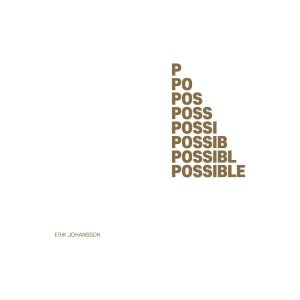 IMPOSSIBLE IS POSSIBLE 에릭 요한슨 사진전 도록