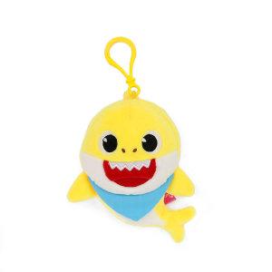 아기상어 가방고리 사운드인형