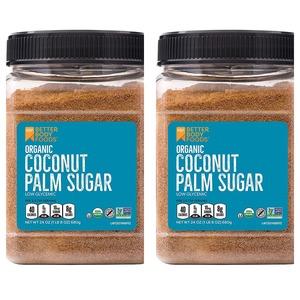 배럴바디푸드 유기농 코코넛 팜슈가 680g 2팩