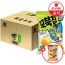 오리온 꼬북칩 콘스프맛 80gx12개 (1박스)+사은품