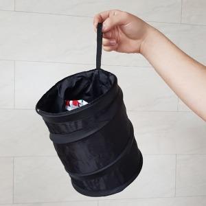 차량용 접이식 휴지통 와이어 포켓 재활용 쓰레기통