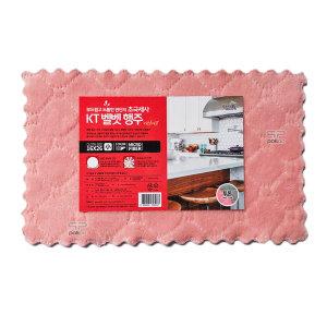 물먹는 극세사 요술 양면 벨벳 행주 소형 10p 핑크