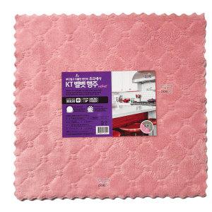 물먹는 극세사 요술 양면 벨벳 행주 중형 10p 핑크