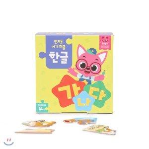 핑크퐁 아기 퍼즐 한글  편집부
