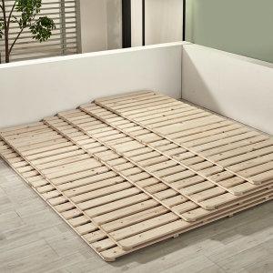 침대 매트리스 깔판 저상형 패밀리 받침대 멀티싱글