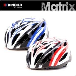 메트릭스 성인헬멧 자전거 인라인헬멧 58~62cm 레드