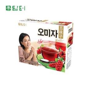 오미자플러스차-15티백 향긋한향 손님대접차 오미자티