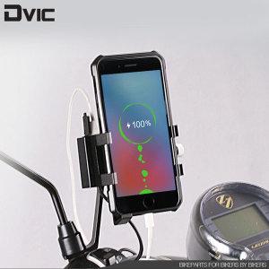 충전식 오토바이 핸드폰거치대 휴대폰 배달대행 배달