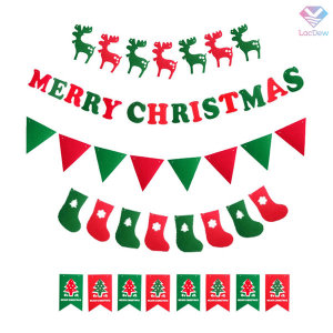 MERRY CHRISTMAS 펠트가랜드모음 크리스마스 파티용품