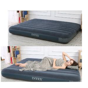 INTEX 에어침대 싱글 더블 가정용 공기 침대 휴대용