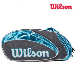 윌슨 투어 배드민턴 테니스 9PK 2단 가방 WRR6107