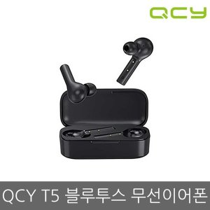 QCY T5 TWS 블루투스5.0 무선이어폰 블랙 (국내배송)