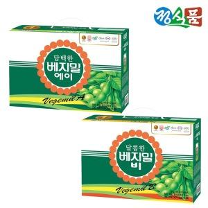 담백한 베지밀A + 달콤한 베지밀B 190ml 48팩 선물용
