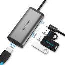 C타입 멀티포트 USB 고속 허브 HDMI 컨버터/맥북허브