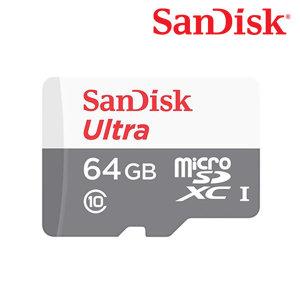 샌디스크 micro SDHC Ultra 64GB 80MB/s 메모리 QUNS