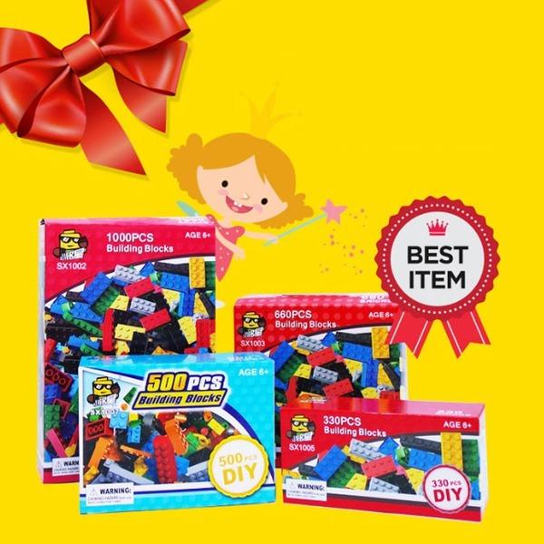 레고 호환 블록 1000조각 벌크 가성비 장난감 선물