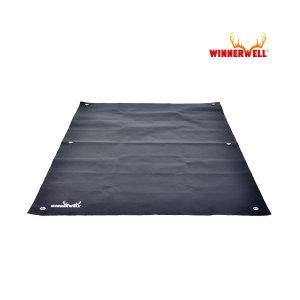 (위너웰) 위너웰 파이버글라스 실리콘 방염포 방염매트 L 910359